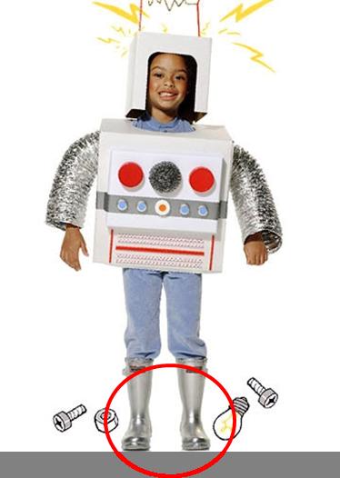robot botas